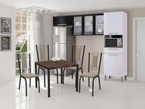 Cozinha Compacta Itatiaia Dandara  - com Nicho para Micro-ondas 6 Portas 1 Gaveta