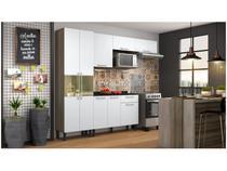 Cozinha Compacta Itatiaia Madeira Lya - Nicho para Micro-ondas 5 Portas