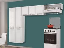 Cozinha Compacta Itatiaia Rose - 7 Portas Aço