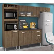 Cozinha Compacta Julia com Balcão Terraro Movemax -