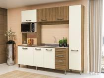 Cozinha Compacta Kappesberg Soft E780-FROW - com Balcão 7 Portas 3 Gavetas