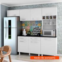Cozinha Compacta Lorena 5 PT Branco - Madine