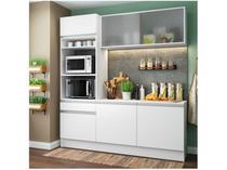 Cozinha Compacta Madesa Ametista G20086 com Balcão - Nicho para Forno ou Micro-ondas 6 Portas 1 Gaveta