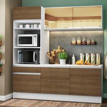 Cozinha Compacta Madesa Diamante com Armário, Balcão e Tampo -