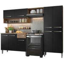 Cozinha Compacta Madesa Emilly Pop Com Armário e Balcão -
