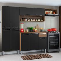Cozinha Compacta Madesa Emilly Top com Armário e Balcão -