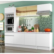 Cozinha Compacta Madesa Glamy Helen 6 Portas 2 Gavetas (Sem Tampo e Pia) -