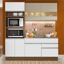 Cozinha Compacta Madesa Helen 6 Portas 2 Gavetas (Sem Tampo e Pia) -