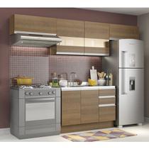 Cozinha Compacta Madesa Marina Com Armário e Balcão (Sem Tampo e Pia) -