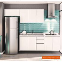 Cozinha Compacta Mali 8 PT 3 GV Branca - Politorno