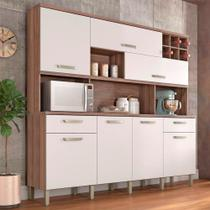 Cozinha Compacta Master 7 Portas 2 Gavetas Nesher -