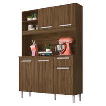 Cozinha Compacta Moval Prado 5 Portas Castanho -