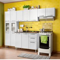 Cozinha Compacta Multipla 14 PT 2 GV Branco - Bertolini