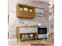 Cozinha Compacta Nesher Princesa - 3 Portas 2 Gavetas 100% MDF