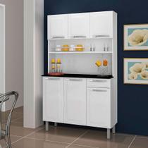 Cozinha Compacta Rose 6 Portas 1 Gaveta Itatiaia -