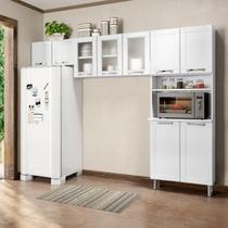 Cozinha Compacta sem Balcão 3 Peças Múltipla Bertolini Branco -