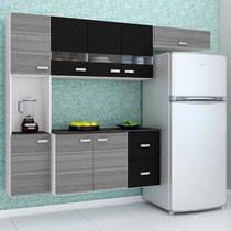 Cozinha Compacta Suspensa 4 Peças Julia - Poquema -