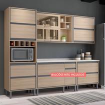 Cozinha Compacta Thela Canela 3 Peças Salina -