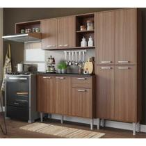 Cozinha Compacta Xangai 9 Portas Multimóveis Nogueira -