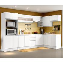 Cozinha Completa 100% MDF Madesa Smart Modulada de Canto -