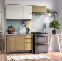 Cozinha Completa 3 Peças 100% MDF Áustria Casamia -