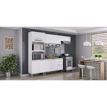 Cozinha Completa 4 peças com Fogão 4 Bocas com Acendimento Automático Luana FL Itatiaia Branco -
