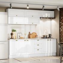 Cozinha Completa 8 Peças Americana Henn Branco -