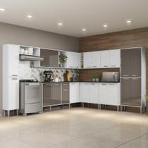 Cozinha Completa c/ Armário e Balcão Xangai Pop Multimóveis -