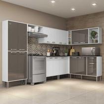 Cozinha Completa c/ Armário e Balcão Xangai Soul Multimóveis -