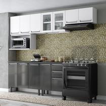 Cozinha Completa Colormaq Roma 6 Peças em Aço -