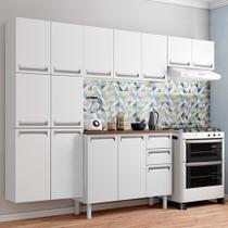 Cozinha Completa Colormaq Roma Branco Com 4 Peças -