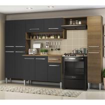 Cozinha Completa Compacta Madesa Emilly com Armário e Balcão -