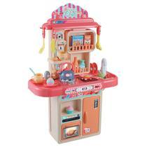 Cozinha Completa Infantil Com Som E Fumaça - 28 Peças - Replaykids
