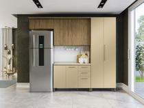 Cozinha Completa Kappesberg CB536-FRCH com Balcão - 9 Portas 3 Gavetas