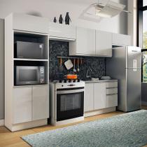 Cozinha Completa Madesa 100% MDF Acordes 2 gavetas 10 Portas (Sem Tampo e Pia) -