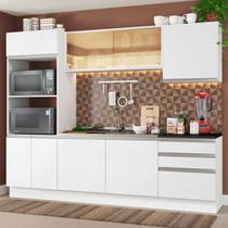 Cozinha Completa Madesa 100% Mdf Acordes Glamy com Armário, Torre e Balcão (Sem Tampo e Pia) - Madesa Móveis -