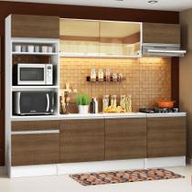 Cozinha Completa Madesa Diamante com Armário, Balcão e Tampo -