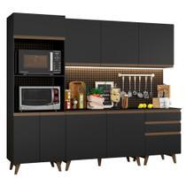 Cozinha Completa Madesa Reims com Balcão - 8 Portas 3 Gavetas -