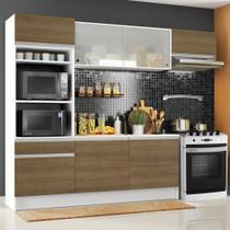 Cozinha Completa Madesa Topazio com Armário, Balcão e Tampo -