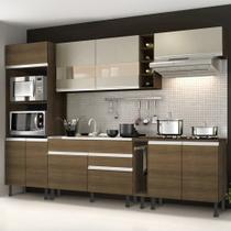 Cozinha Completa Madesa Vicenza com Armário e Balcão -