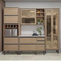 Cozinha Completa Thela Canela 5 Peças para Microondas com cristaleira Salina -