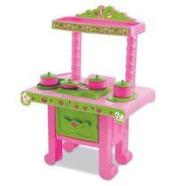 Cozinha Da Moranguinho Com Acessórios Fogão Mimo Brinquedos -
