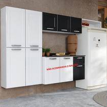Cozinha de Aço 3 peças Paneleiro Armário e Nicho Dona Maria - Bertolini