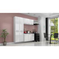 Cozinha de Aço Amanda 2,45X1,65M Branco Itatiaia -