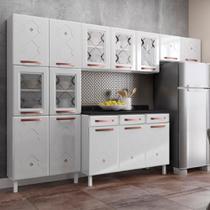 Cozinha de Aço Compacta Telasul Mirage New 5 Vidros 3 Peças Branco -