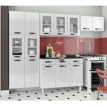 Cozinha de Aço Compacta Telasul Rubi 3 Peças Branco -