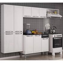 Cozinha De Aço Completa Rose com balcão Itatiaia Móveis Branco - Itatiaia Moveis Sa