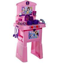 Cozinha De Brinquedo Infantil Stephany Sonhos De Princesas Com Fogão Pia Forno E Acessórios - Rosita -