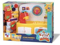Cozinha de massas kitchen Massinhas - Diver Massas - Diver Toys - Divertoys