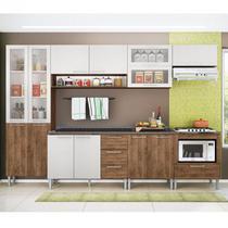 Cozinha Emanuella 0422T 13 Portas C/ Tampo  GenialFlex -